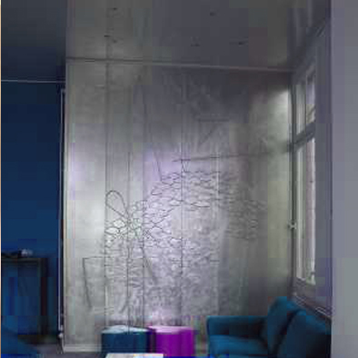 D coration murale fresque peinture murale paris - Toile decorative murale ...